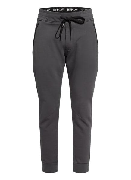 REPLAY Sweatpants, Farbe: DUNKELGRAU (Bild 1)