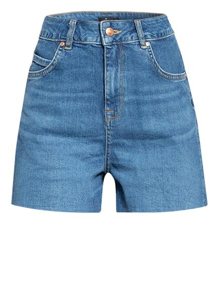 LOVJOI Jeans-Shorts FRITTILARY, Farbe: BLUEDENIM (Bild 1)