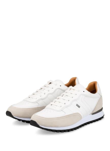 BOSS Sneaker PARKOUR RUNN, Farbe: WEISS/ BEIGE (Bild 1)