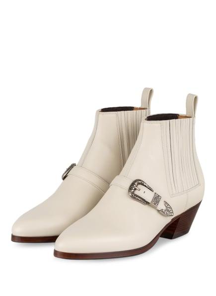 GUCCI Chelsea-Boots, Farbe: 9104 MYSTIC WHITE/COCOA (Bild 1)