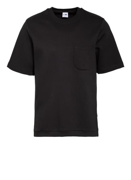 NN07 T-Shirt DENZEL, Farbe: SCHWARZ (Bild 1)
