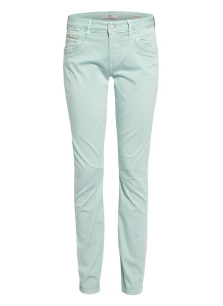 mavi Jeans SOPHIE mit Nietenbesatz, Farbe: MINT (Bild 1)