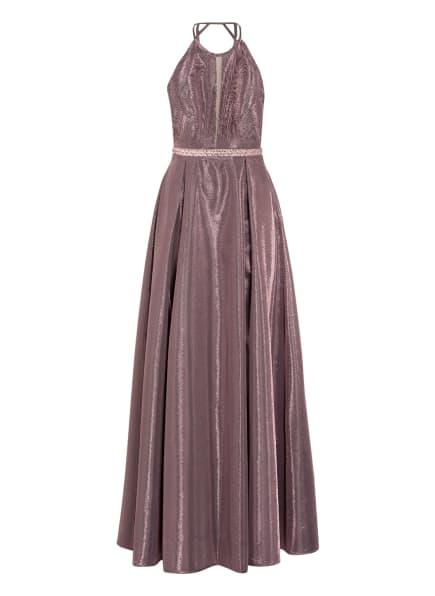 Suddenly Princess Abendkleid mit Glitzergarn, Farbe: ROSÉGOLD (Bild 1)