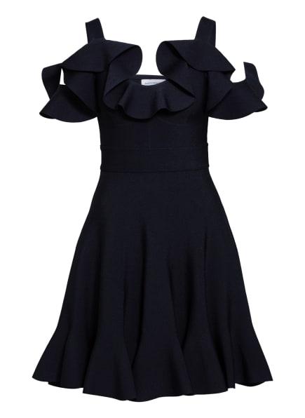 Alexander McQUEEN Kleid mit Volantbesatz, Farbe: SCHWARZ (Bild 1)