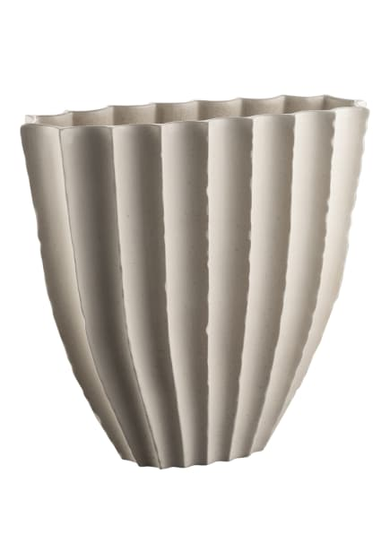 BROSTE COPENHAGEN Vase DEBBIE, Farbe: BLAUGRAU/ WEISS/ DUNKELBRAUN (Bild 1)
