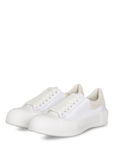Alexander McQUEEN Plateau-Sneaker , Farbe: WEISS (Bild 1)