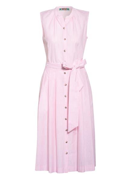 BERWIN & WOLFF Kleid , Farbe: ROSA/ WEISS (Bild 1)