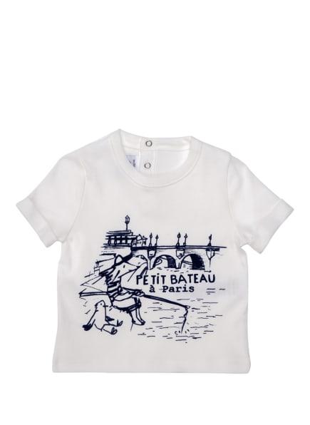 PETIT BATEAU T-Shirt, Farbe: WEISS/ DUNKELBLAU (Bild 1)