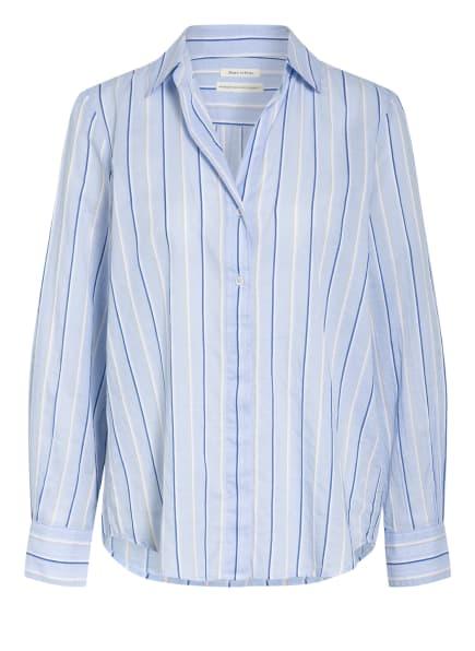 Marc O'Polo Blusenshirt, Farbe: HELLBLAU/ BLAU/ WEISS (Bild 1)