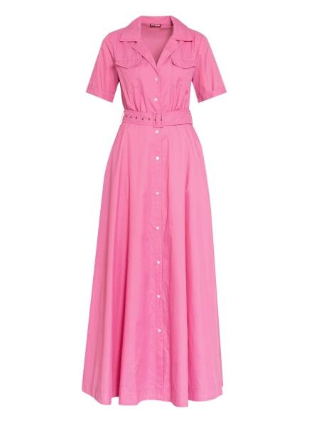 STAUD Hemdblusenkleid MILLIE, Farbe: ROSA (Bild 1)