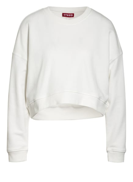 STAUD Cropped-Sweatshirt, Farbe: WEISS (Bild 1)