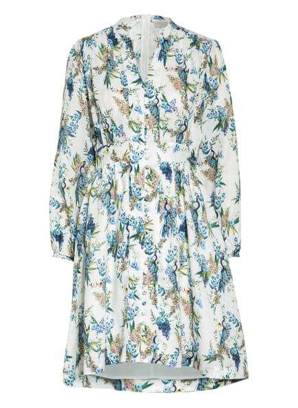 Mrs & HUGS Hemdblusenkleid aus Leinen, Farbe: WEISS/ BLAU/ GRÜN (Bild 1)
