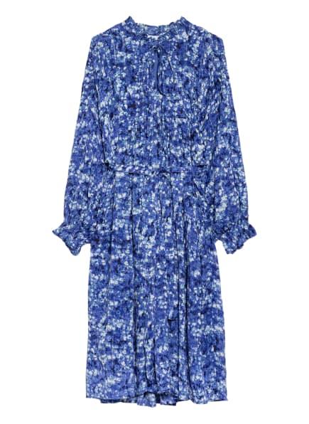 Freebird Kleid MABEL mit Glitzergarn, Farbe: BLAU/ WEISS/ GRÜN (Bild 1)