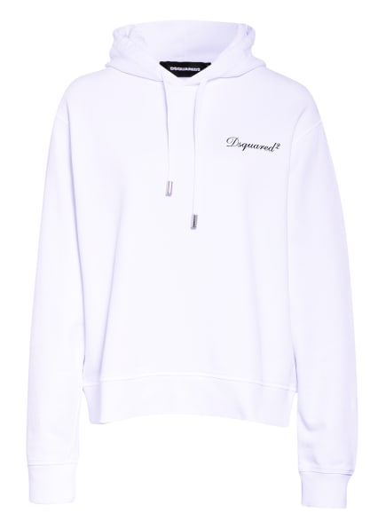 DSQUARED2 Hoodie, Farbe: WEISS (Bild 1)