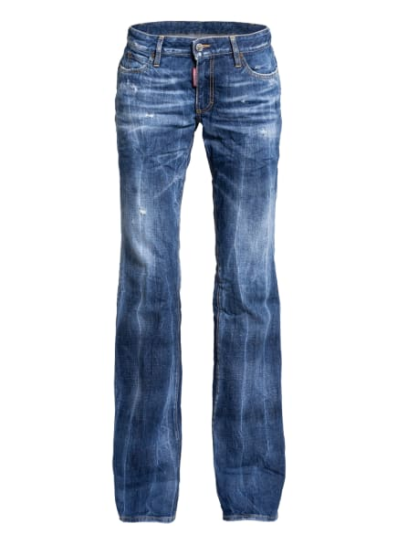 DSQUARED2 Flared Jeans, Farbe: 470 BLUE (Bild 1)