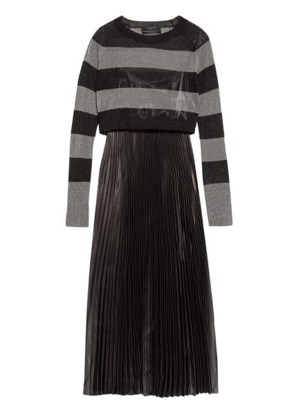 ALL SAINTS Kleid JACLYN , Farbe: SCHWARZ/ SILBER (Bild 1)