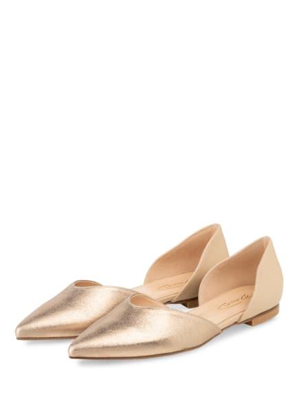 Bianca Di Ballerinas , Farbe: GOLD/ CREME (Bild 1)