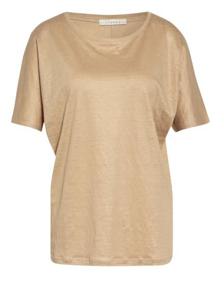 lilienfels T-Shirt aus Leinen, Farbe: BEIGE (Bild 1)