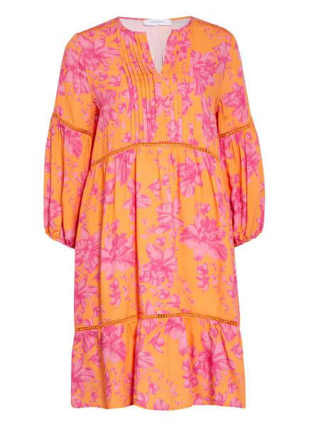 darling harbour Kleid mit 3/4-Arm, Farbe: ORANGE/ PINK (Bild 1)