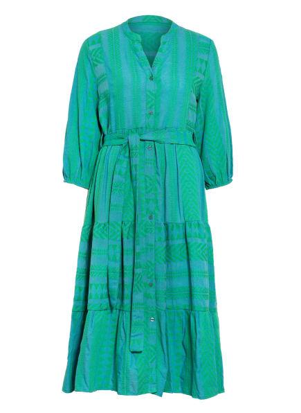 darling harbour Kleid mit 3/4-Arm, Farbe: GRÜN (Bild 1)