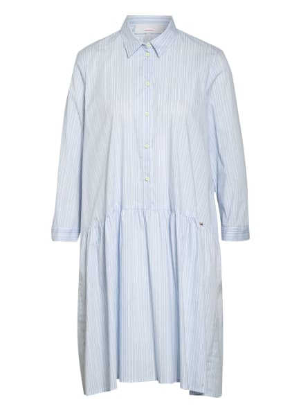 CINQUE Kleid CIDAVOLI mit 3/4-Arm, Farbe: HELLBLAU/ WEISS (Bild 1)