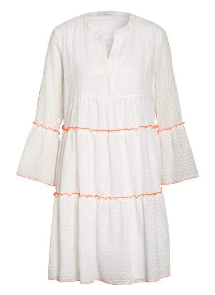 CINQUE Kleid CIIPPI mit 3/4-Ärmel, Farbe: WEISS/ ORANGE (Bild 1)