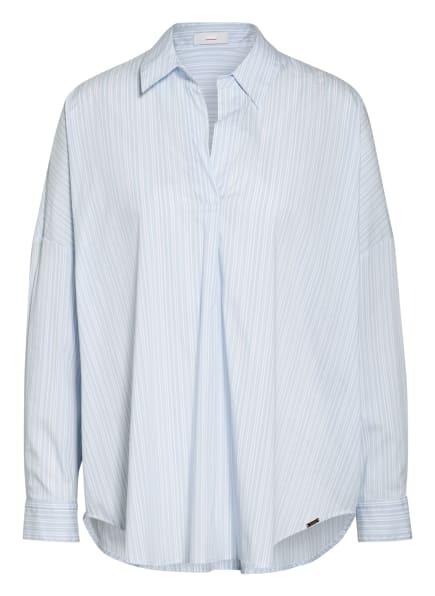 CINQUE Oversized-Blusenshirt CITWEET, Farbe: WEISS/ HELLBLAU (Bild 1)