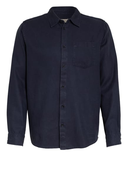 Nudie Jeans Hemd CHUCK Regular Fit, Farbe: DUNKELBLAU (Bild 1)