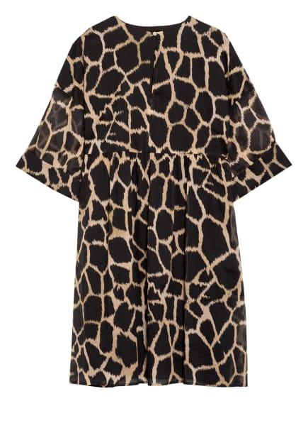 CINQUE Kleid CIDOLLO mit 3/4-Arm, Farbe: SCHWARZ/ BEIGE (Bild 1)