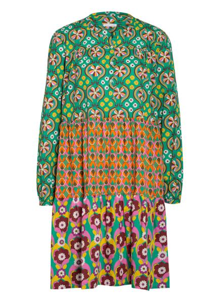 ROBERT FRIEDMAN Kleid ELVIRA, Farbe: GRÜN/ ORANGE/ LILA (Bild 1)