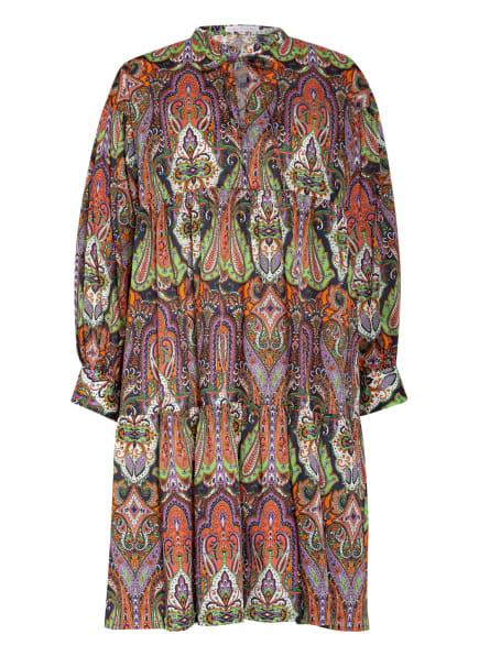 ROBERT FRIEDMAN Kleid SERENA, Farbe: ORANGE/ LILA/ GRÜN (Bild 1)
