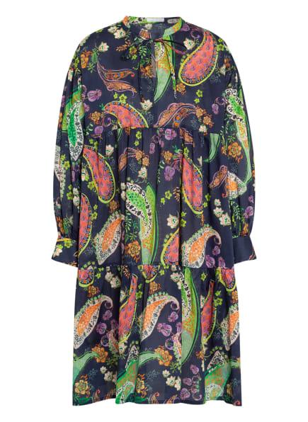 ROBERT FRIEDMAN Kleid SERENA, Farbe: BLAU/ GRÜN/ ROT (Bild 1)