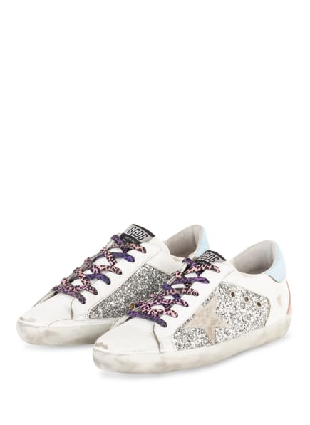 GOLDEN GOOSE Sneaker SUPERSTAR , Farbe: WEISS (Bild 1)