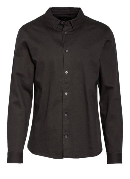 ALL SAINTS Hemd BANNER Slim Fit, Farbe: DUNKELGRAU (Bild 1)