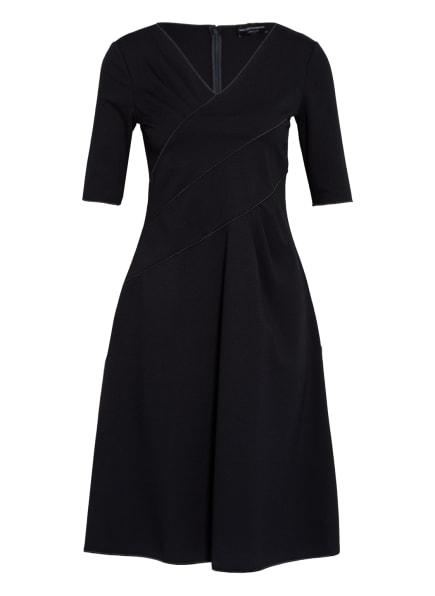 EMPORIO ARMANI Kleid in Wickeloptik, Farbe: DUNKELBLAU (Bild 1)