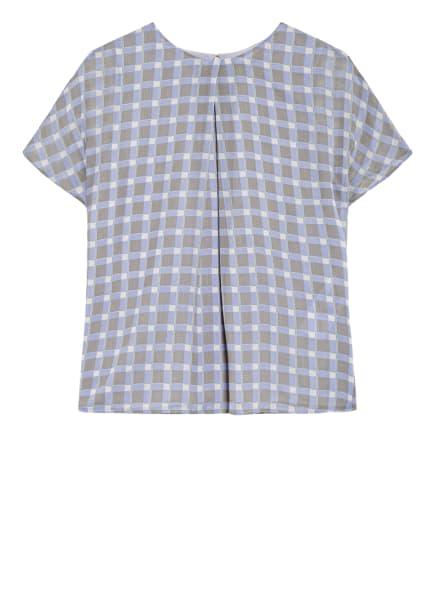 EMPORIO ARMANI Blusenshirt, Farbe: HELLBLAU/ GRAU/ ECRU (Bild 1)