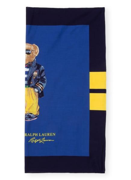 POLO RALPH LAUREN Tuch, Farbe: DUNKELBLAU/ BLAU/ GELB (Bild 1)