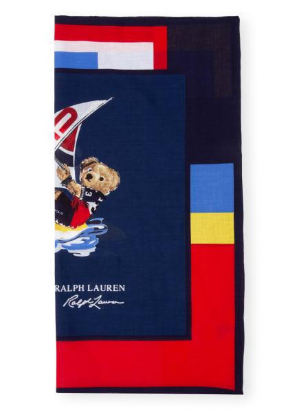 POLO RALPH LAUREN Tuch, Farbe: DUNKELBLAU/ WEISS/ ROT (Bild 1)