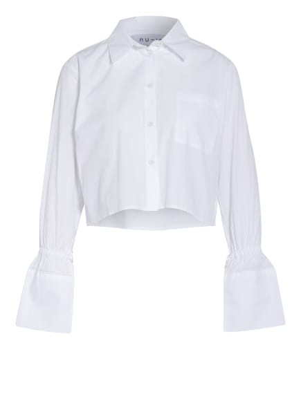 nu-in Cropped-Bluse, Farbe: WEISS (Bild 1)