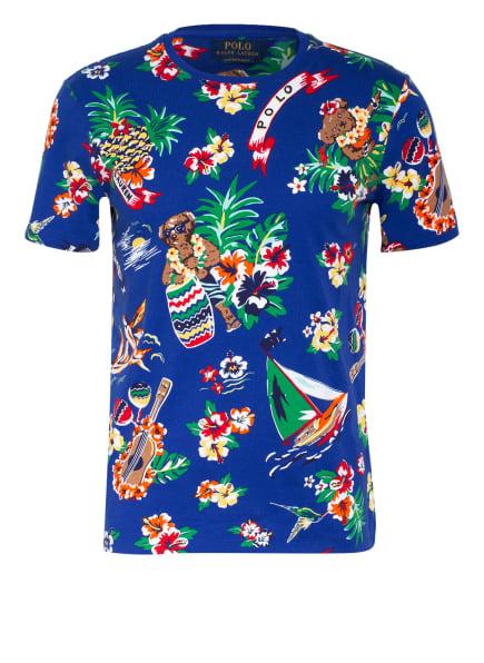 POLO RALPH LAUREN T-Shirt, Farbe: BLAU/ ROT/ GRÜN (Bild 1)