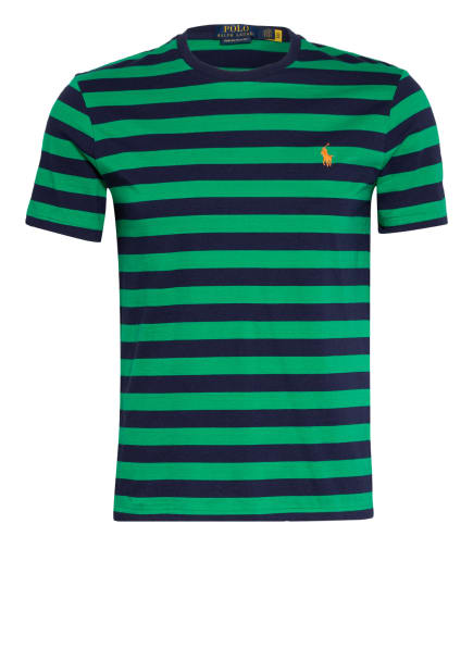 POLO RALPH LAUREN T-Shirt, Farbe: GRÜN/ DUNKELBLAU (Bild 1)