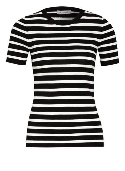 MARELLA Strickshirt VALIKA, Farbe: WEISS/ SCHWARZ (Bild 1)