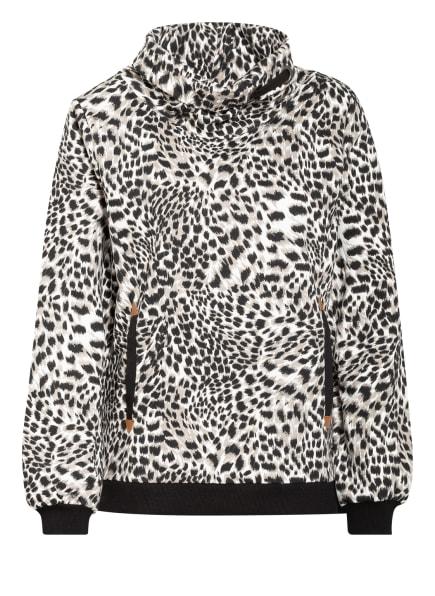 KEY LARGO Sweatshirt PEPPER, Farbe: WEISS/ TAUPE/ SCHWARZ (Bild 1)
