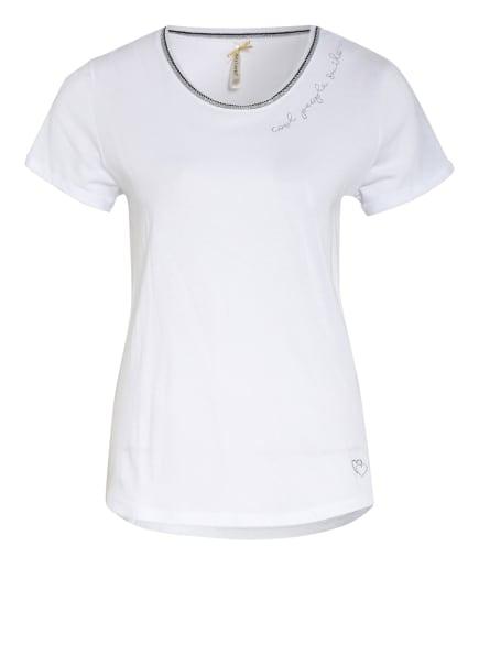KEY LARGO T-Shirt, Farbe: WEISS/ SILBER/ SCHWARZ (Bild 1)
