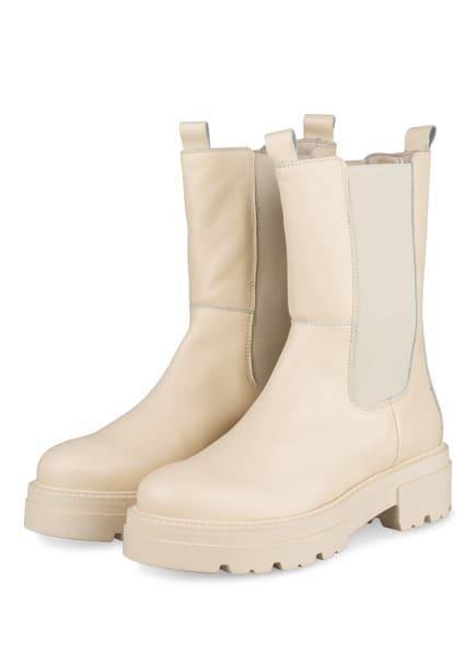Mrs & HUGS Chelsea-Boots , Farbe: CREME (Bild 1)