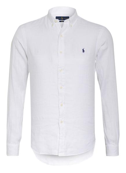 POLO RALPH LAUREN Leinenhemd Slim Fit , Farbe: WEISS (Bild 1)