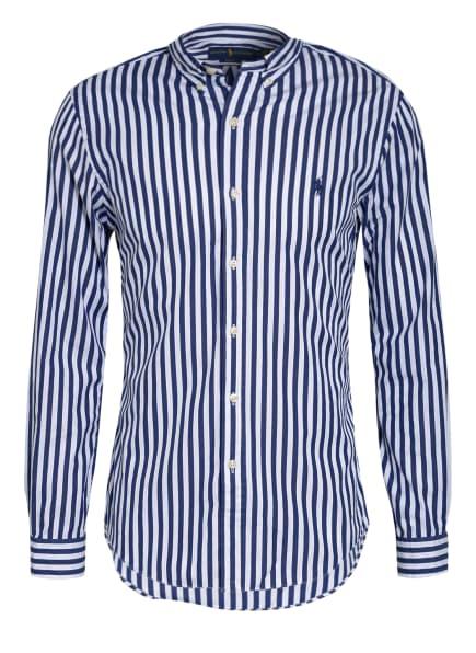 POLO RALPH LAUREN Hemd Slim Fit, Farbe: WEISS/ DUNKELBLAU (Bild 1)