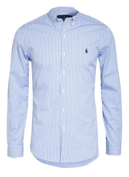 POLO RALPH LAUREN Hemd Slim Fit, Farbe: WEISS/ HELLBLAU (Bild 1)