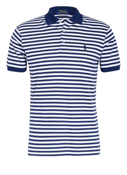 POLO RALPH LAUREN Jersey-Poloshirt , Farbe: DUNKELBLAU/ WEISS (Bild 1)