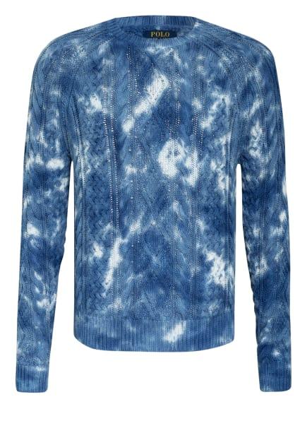 POLO RALPH LAUREN Pullover, Farbe: DUNKELBLAU/ WEISS (Bild 1)